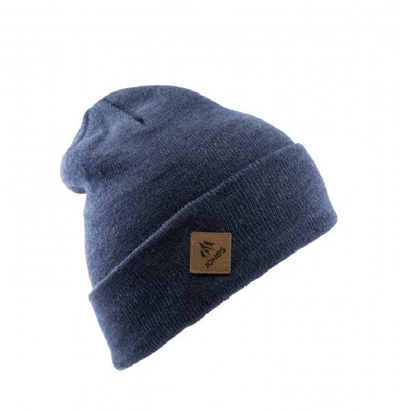 JONES BEANIE BAKER BEANIE HEATHER NAVY W19