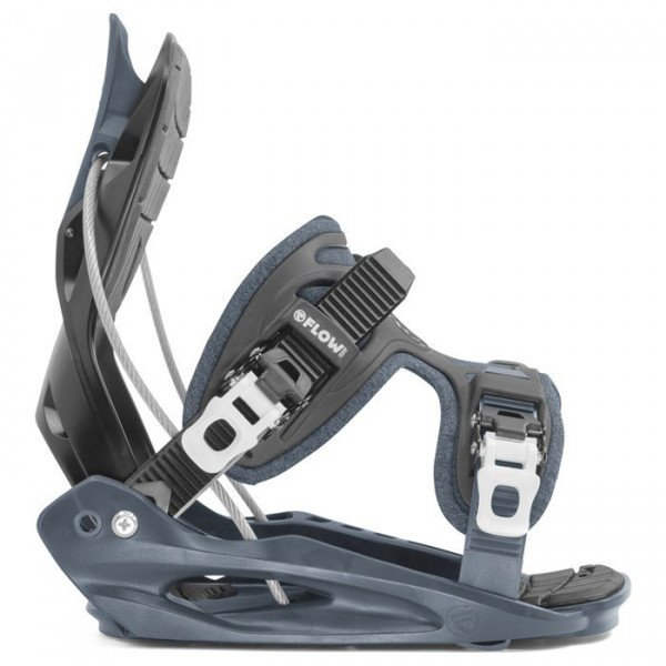 FLOW BINDINGS MICRON YOUTH BLACK W19