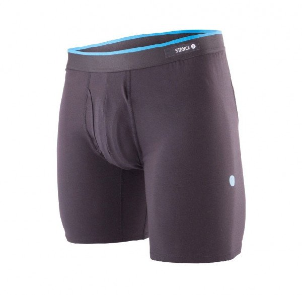 STANCE UNDERWEAR STANDARD 6IN BLACK