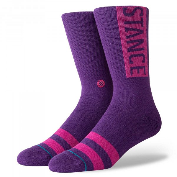 STANCE SOCKS UNCOMMON SOLIDS OG PURPLE