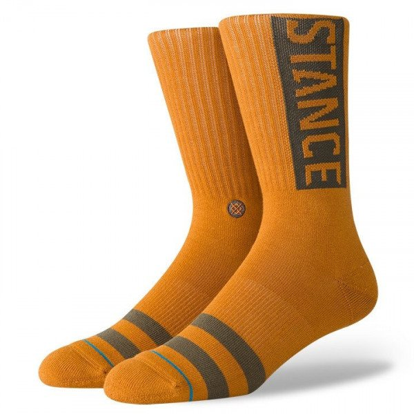 STANCE SOCKS UNCOMMON SOLIDS OG DARK KHAKI