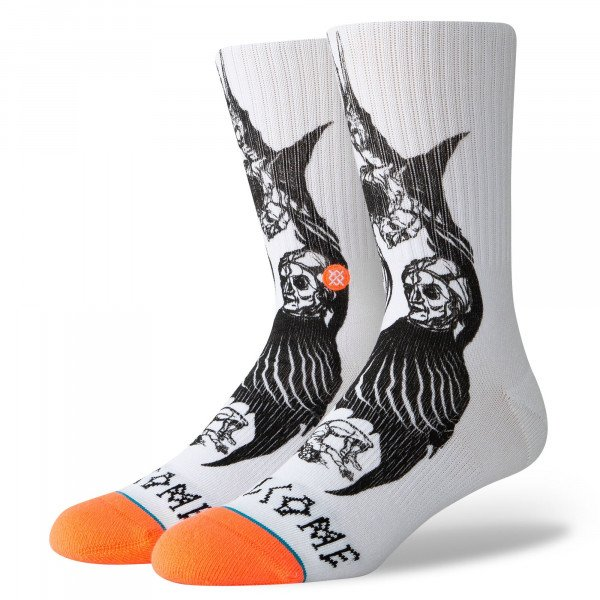 STANCE SOCKS SURFSKATE DARKNESS WHITE