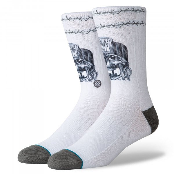 STANCE SOCKS SURFSKATE MERCY WHITE