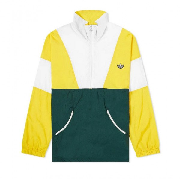 ADIDAS JACKET TRACK TOP SUPER YELLOW CORE WHITE S20