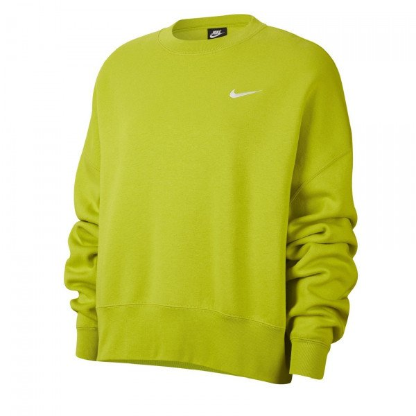 NIKE HOOD NSW CREW FLEECE TREND GREEN S20