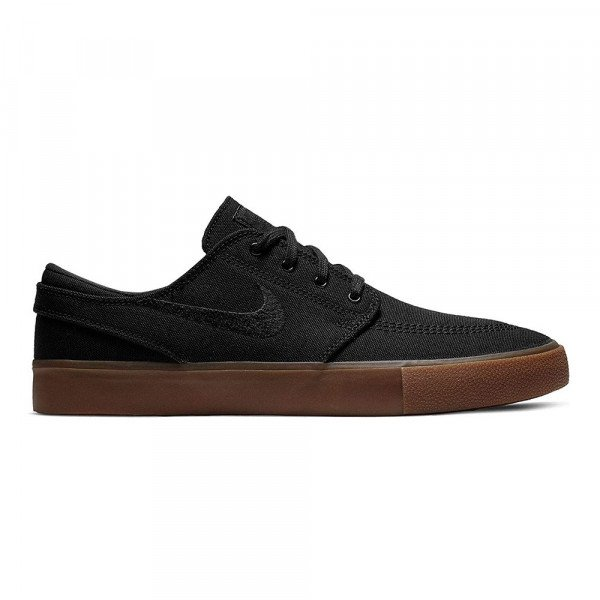 NIKE APAVI SB ZOOM JANOSKI CNVS RM BLACK GUM LIGHT BROWN S20