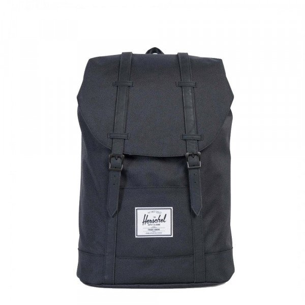 HERSCHEL SOMA RETREAT POLY BLACK BLACK