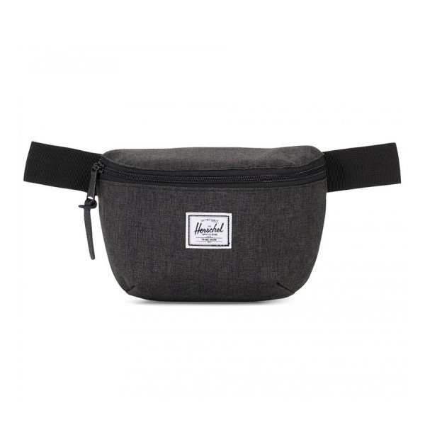 HERSCHEL SOMA FOURTEEN POLY BLACK CROSSHATCH