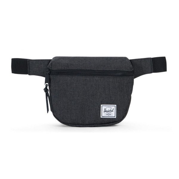HERSCHEL SOMA FIFTEEN POLY BLACK CROSSHATCH