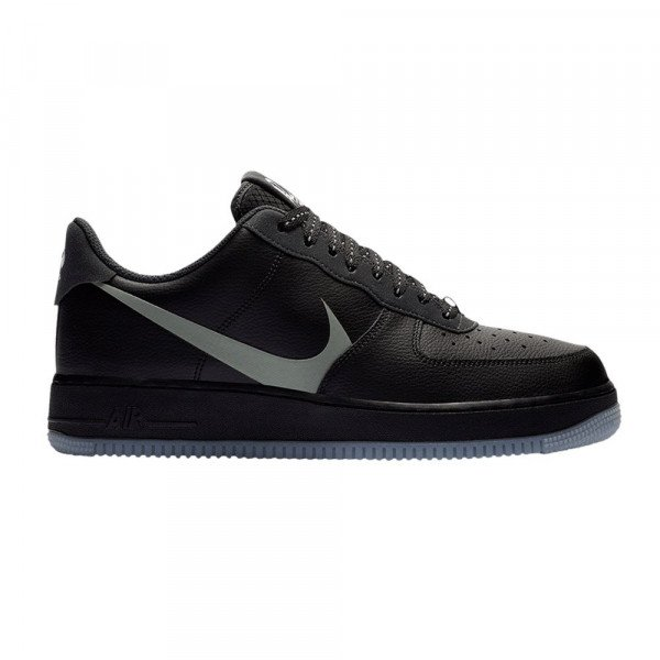 NIKE APAVI AIR FORCE 1 '07 LV8 3 BLACK SILVER LILAC S20