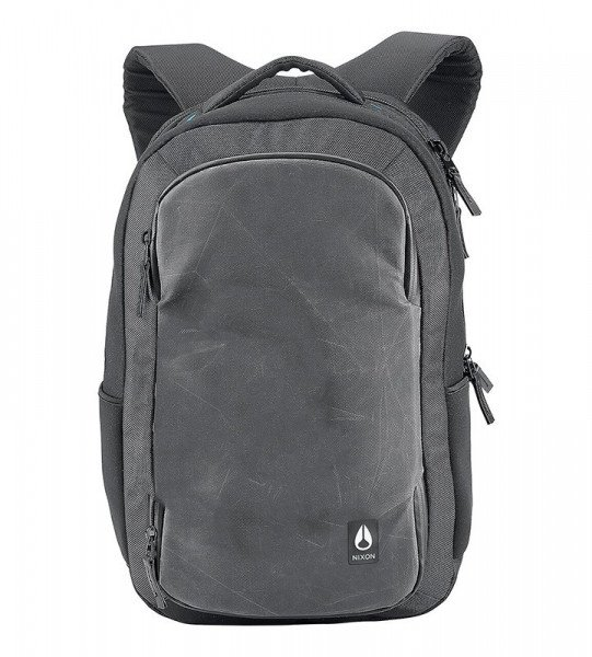 NIXON SOMA SHADOW WORLD TRAVELER BACKPACK II BLACK