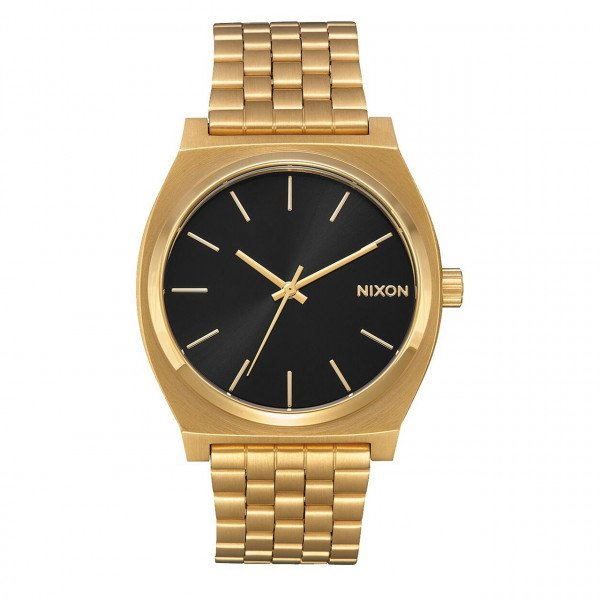 NIXON WATCH TIME TELLER ALL GOLD BLACK SUNRAY