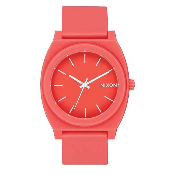 NIXON WATCH TIME TELLER P MATTE CORAL