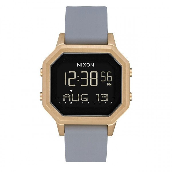 NIXON WATCH SIREN SS LIGHT GOLD GRAY