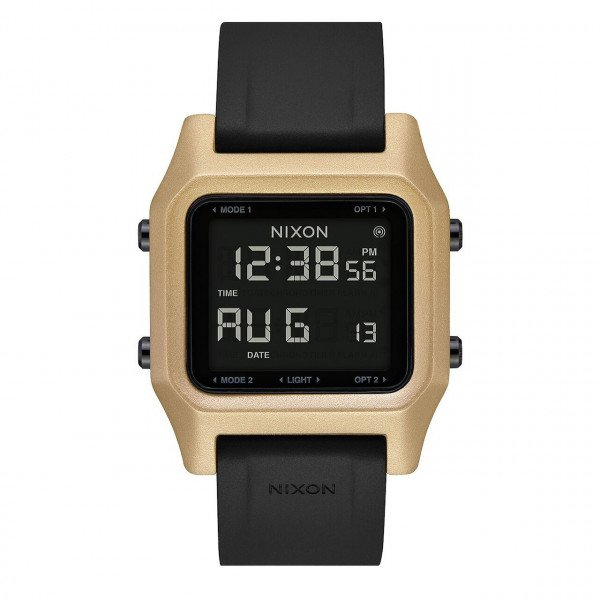 NIXON PULKSTENIS STAPLE BLACK GOLD