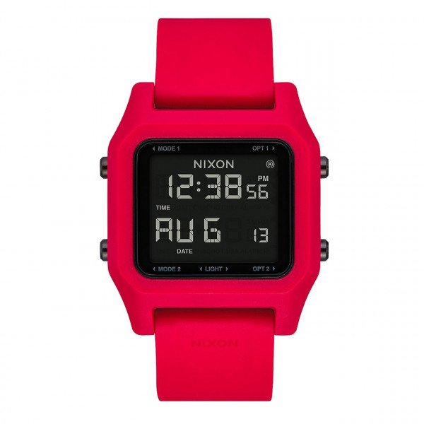 NIXON PULKSTENIS STAPLE RED