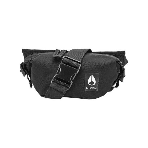 NIXON SOMA TRESTLES HIP PACK ALL BLACK NYLON