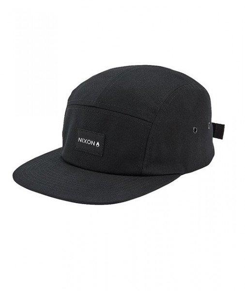 NIXON CEPURE MIKEY STRAPBACK HAT BLACK