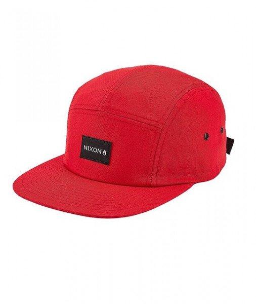 NIXON CEPURE MIKEY STRAPBACK HAT RED