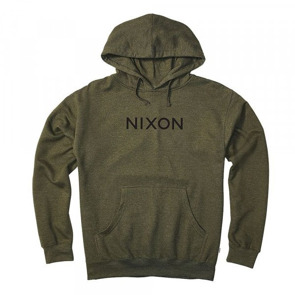 NIXON HOOD WORDMARK PULLOVER SURPLUS S20
