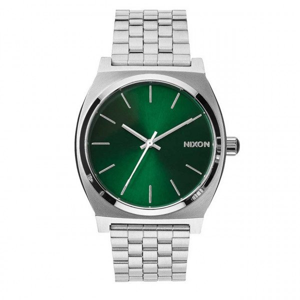 NIXON WATCH TIME TELLER GREEN SUNRAY