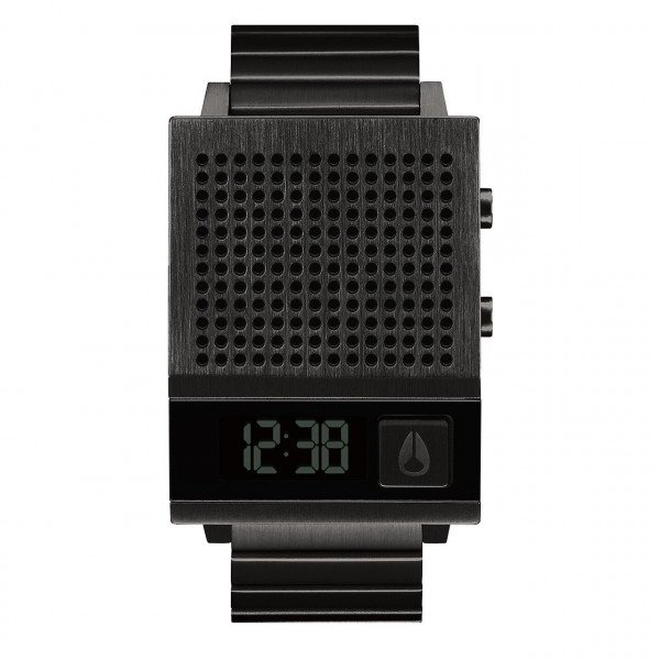 NIXON PULKSTENIS DORK TOO ALL BLACK