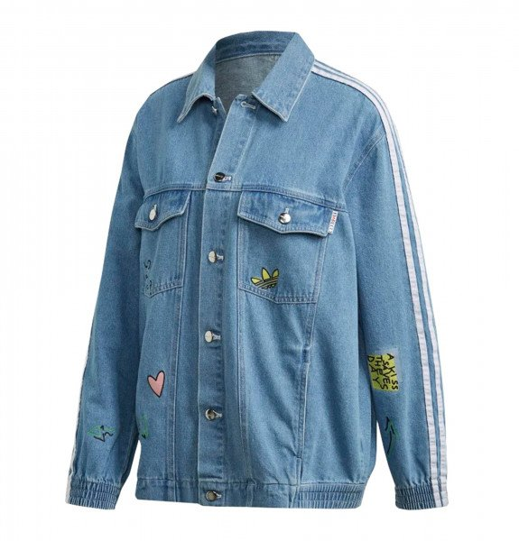 ADIDAS JAKA DENIM JACKET CLEAR SKY S20