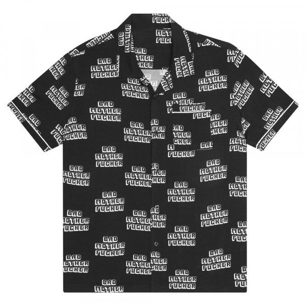 HUF KREKLS PULP FICTION BAD MF HEMD BLACK S20
