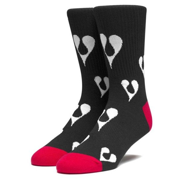 HUF ZEĶES PHIL FROST SOCKS BLACK S20