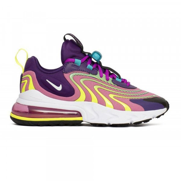 NIKE APAVI AIR MAX 270 REACT ENG W EGGPLANT MAGIC FLAMINGO S20