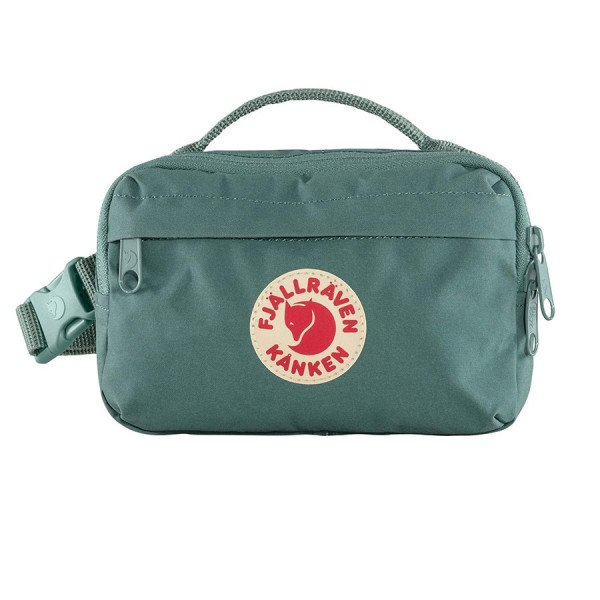 FJALLRAVEN SOMA KANKEN HIP PACK FROST GREEN