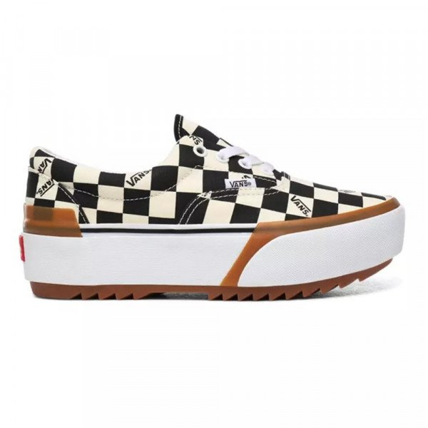 VANS APAVI ERA STACKED (CHECKERBOARD) MULTI TRUE WHITE S20