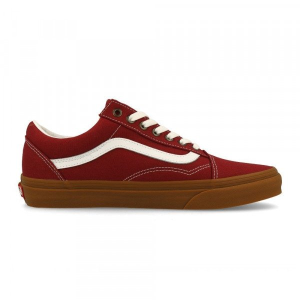 VANS APAVI OLD SKOOL (GUM) ROSEWOOD TRUE WHITE S20
