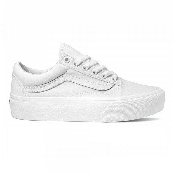 VANS APAVI OLD SKOOL PLATFORM TRUE WHITE S20