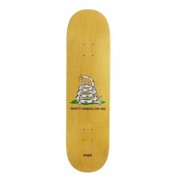 ENJOI KLĀJS DON'T SHRED YELLOW 8.5 DECK