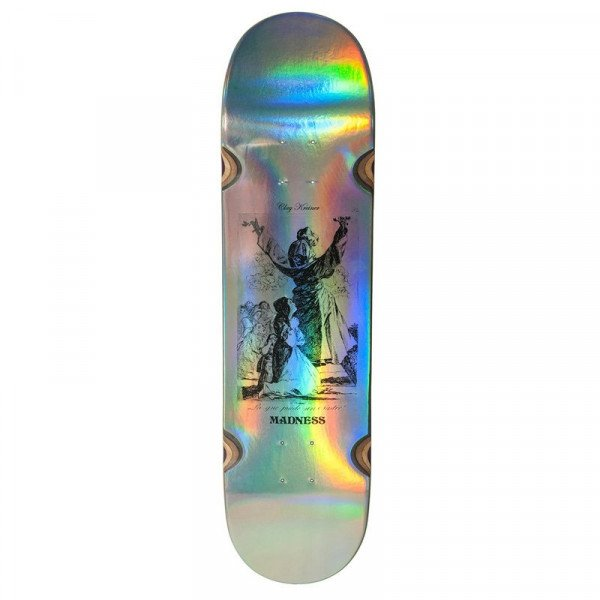 MADNESS KREINER HAIL IMPACT LIGHT HOLOGRAPHIC 8.25 DECK