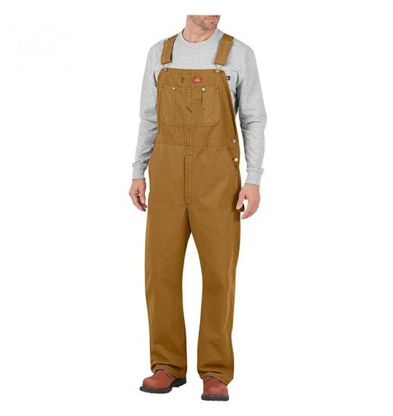 DICKIES PANTS BIB OVERALL LOOSE FIT RBD