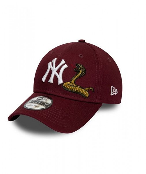 NEW ERA CEPURE TWINE MLB 9FORTY NEW YORK YANKEES MRN S20