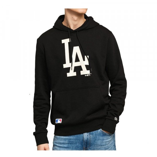 NEW ERA HOOD MLB TEAM LOGO LOS ANGELES DODGERS BLK BCH S20