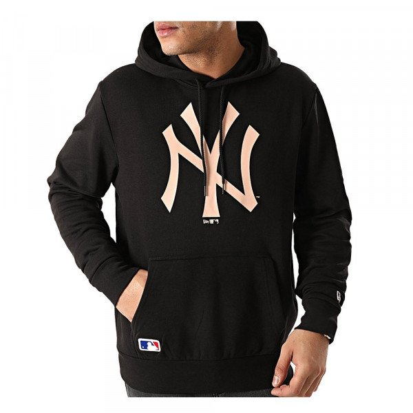 NEW ERA HOOD MLB TEAM LOGO NEW YORK YANKEES BLK BSK S20