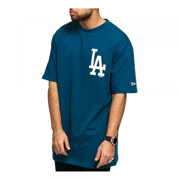 NEW ERA T-SHIRT MLB BIG LOGO OVERSIZED TEE LA DODGERS CDT S20