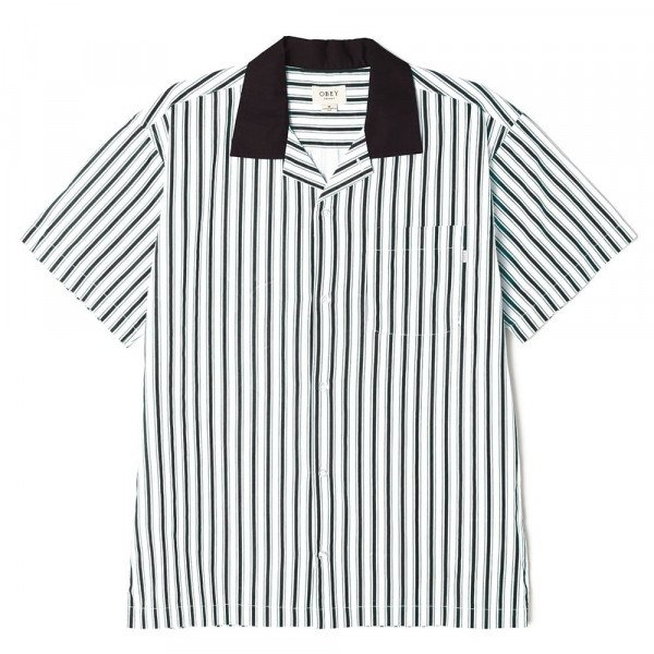 OBEY KREKLS IDEALS ORGANIC STRIPED WOVEN BKM S20