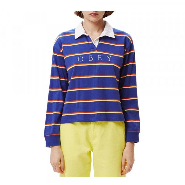 OBEY KREKLS NOBLE CROPPED RUGBY COB S20