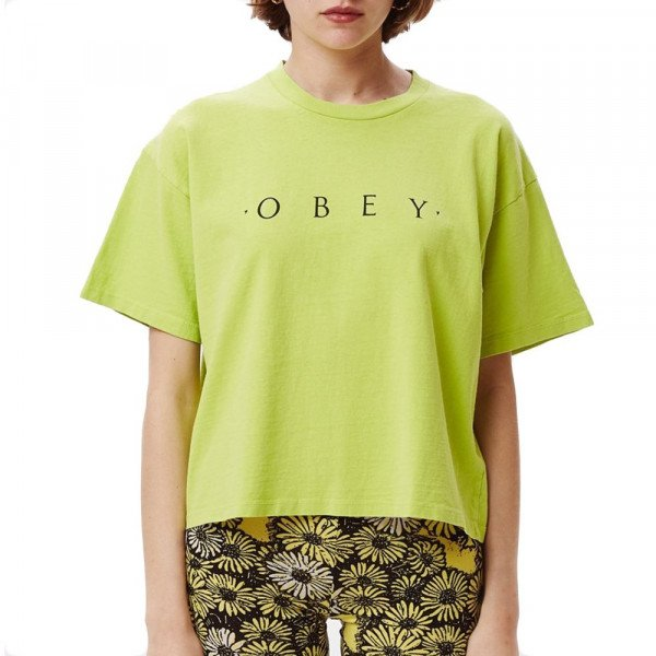 OBEY T-SHIRT NOVEL OBEY LME S20