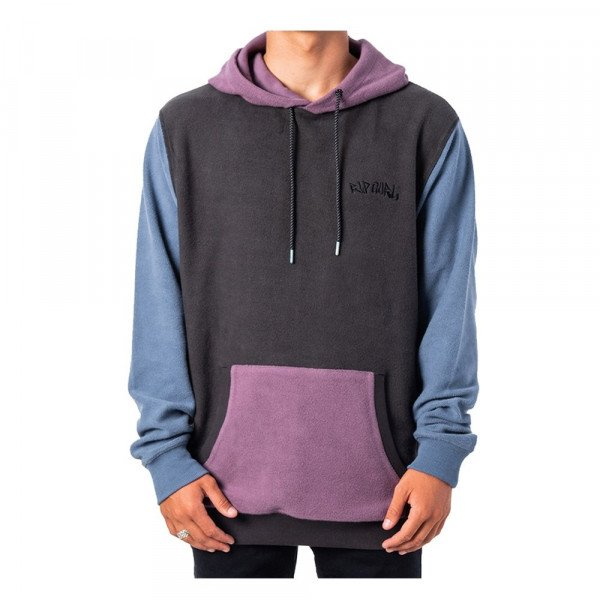 RIP CURL HOOD BATHOUSE HOOD WASHED BLACK S20