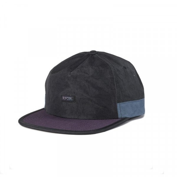 RIP CURL BATHOUSE SB CAP WASHED BLACK S20