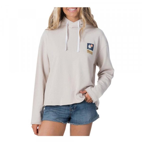 RIP CURL HOOD SUNSETTERS HOODIE STONE S20