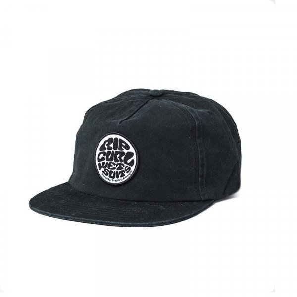 RIP CURL WASHED WETTY SB CAP WASHED BLACK S20