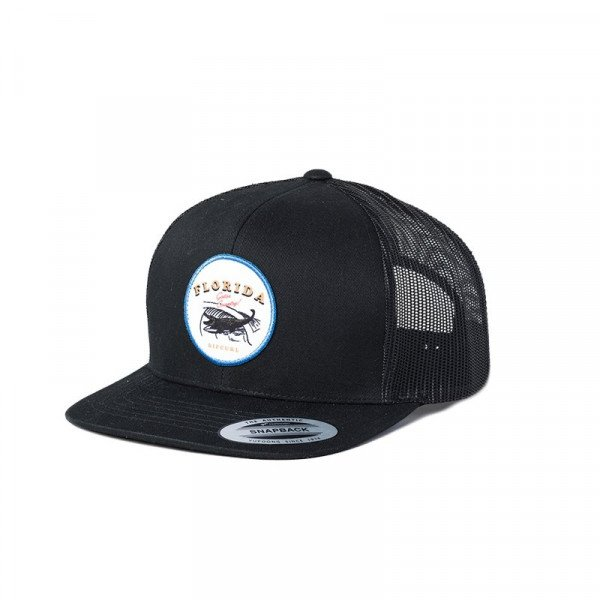 RIP CURL CEPURE DESTINATION SURF TRUCKER CAP BLACK S20