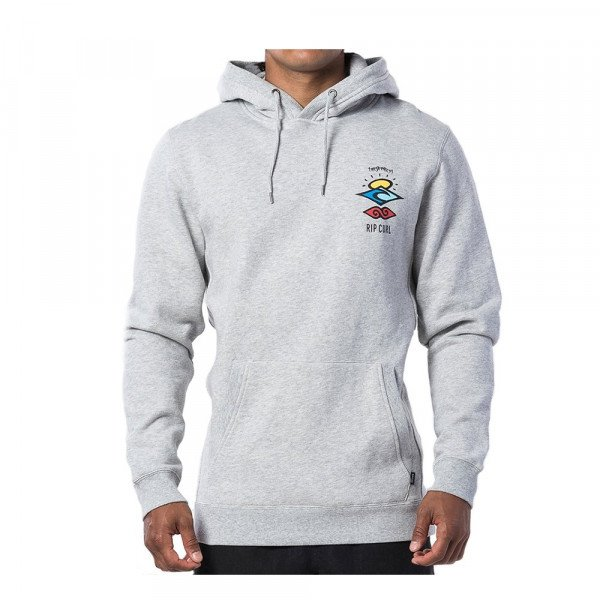 RIP CURL HOOD SEARCH ICON HOOD CEMENT MARLE S20